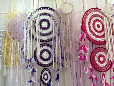 Dream Catchers PEACE LOVE CRYSTALS